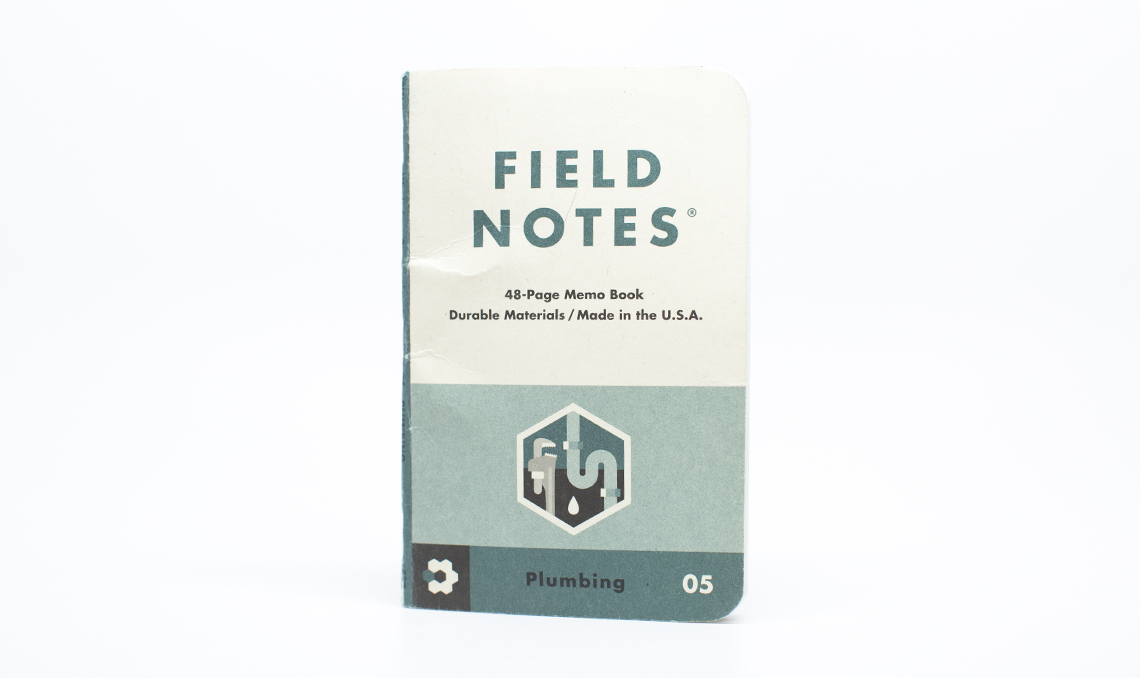 Field Notes_Plumbing 05_Staple Day_Front