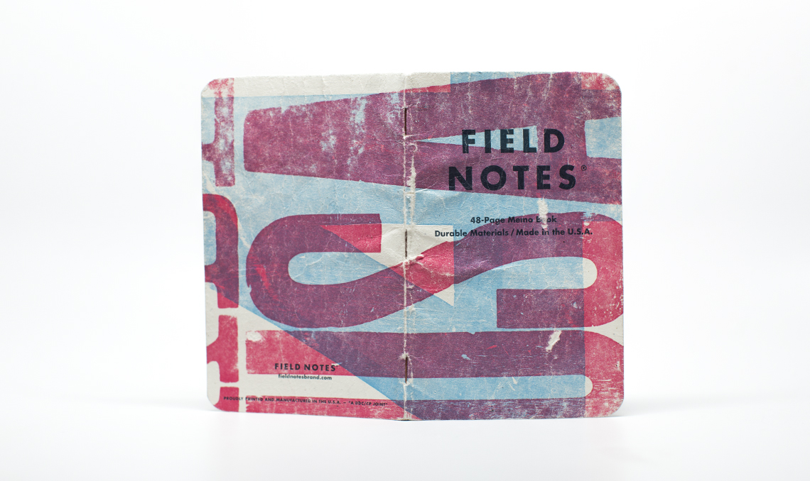FieldNotesColors_TwoRiversEdition_CoverSpread_worn