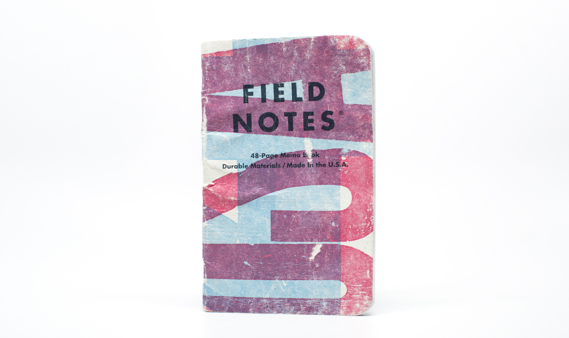 FieldNotesColors_TwoRiversEdition_Cover_worn