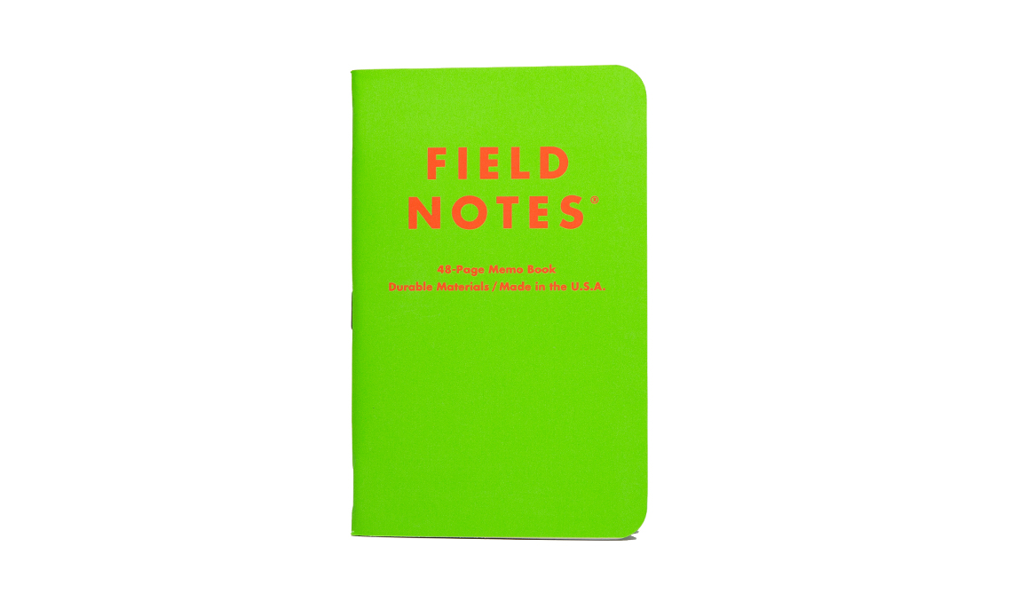 FieldNotes_Colors_Unexposed_green_cover