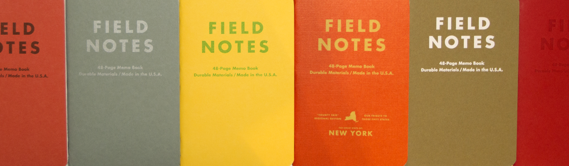 Field Notes Colors Banner