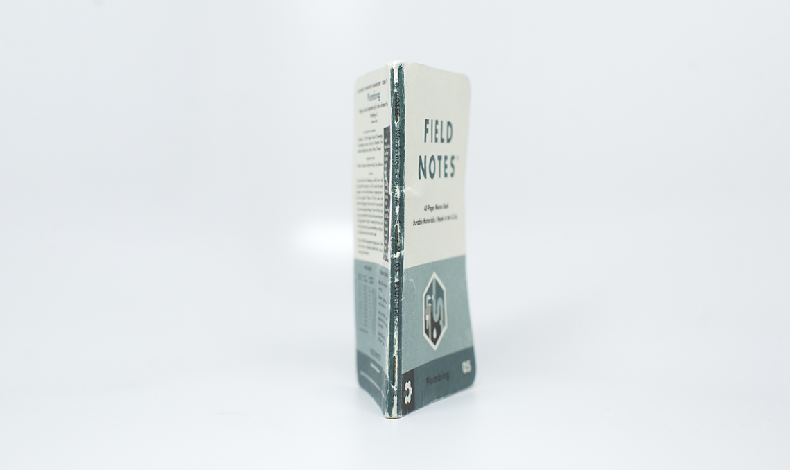 Field Notes Colors Edition Workshop Companion Spine