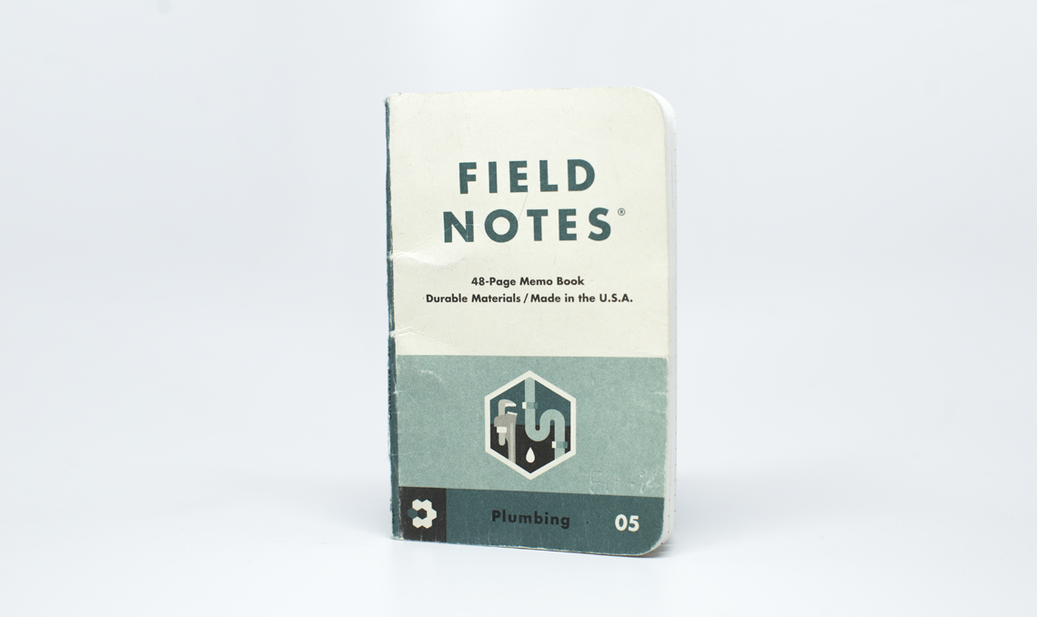 Field Notes Colors Edition Workshop Companion worn Front Cover