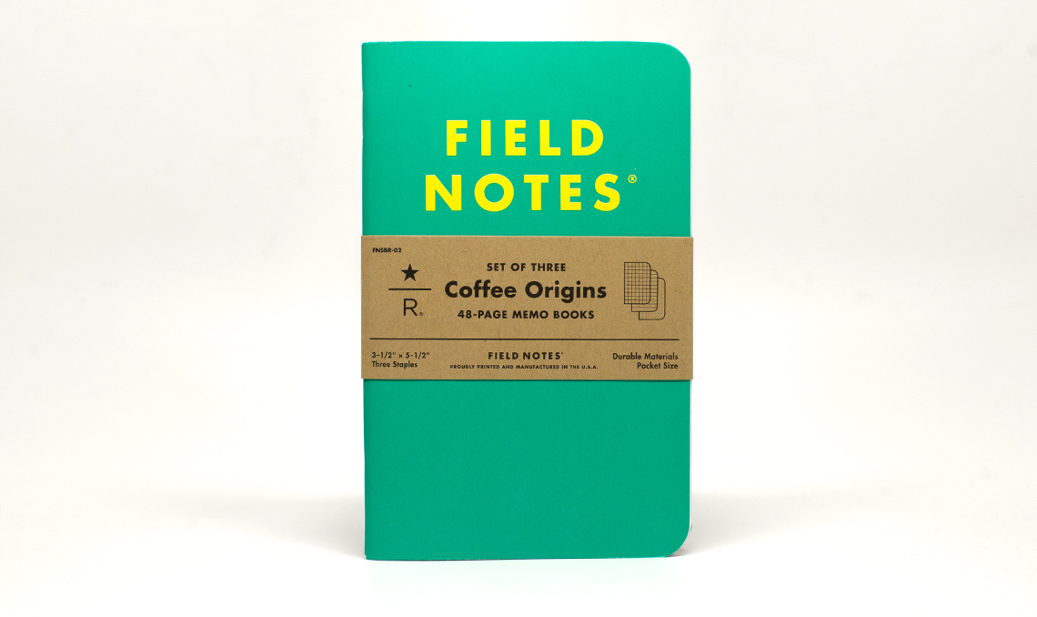 Field Notes Starbucks Reserve Coffee Origins Preview & Giveaway